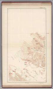 Sheet No. 18.  (Chilkat River, Klaheela River, Tahkin River, Muir Glacier, Charpentier Glacier, John Hopkins Glacier).