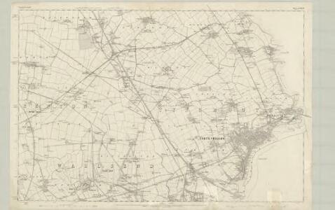 Northumberland LXXXIX - OS Six-Inch Map
