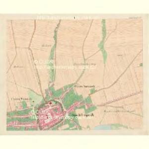 Leipnik - m1568-1-004 - Kaiserpflichtexemplar der Landkarten des stabilen Katasters