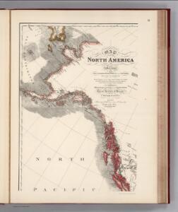 Facsimile:  Faden's North America (northwestern portion).