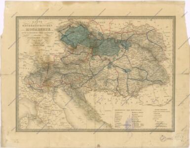 Karte der Oesterreichischen Monarchie