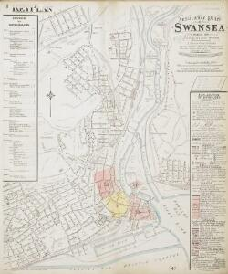 Insurance Plan of Swansea: Key Plan