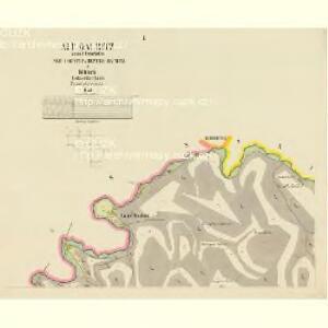 Alt Daubitz - c1452-1-001 - Kaiserpflichtexemplar der Landkarten des stabilen Katasters