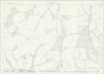 Surrey XL.12 (includes: Capel; Newdigate) - 25 Inch Map