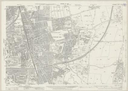 Lancashire CXI.4 (includes: Manchester; Stockport) - 25 Inch Map