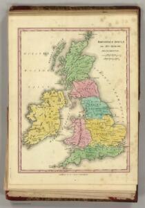 Brittannicae Insule ex Aevi Romani Monumentis.  (1826)