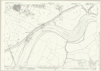 Lancashire CXV.7 (includes: Cuerdley; Great Sankey; Penketh; Warrington) - 25 Inch Map