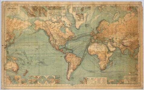 World On Mercator's Projection