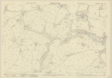 Denbighshire XIII.7 (includes: Bylchau; Denbigh; Henllan; Llanrhaeadr Yng Nghinmeirch Urban) - 25 Inch Map