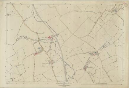 Suffolk LXIV.1 (includes: Cockfield; Thorpe Morieux) - 25 Inch Map