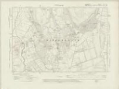 Lancashire XIII.NW - OS Six-Inch Map