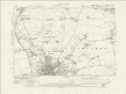 Suffolk LXXII.SE - OS Six-Inch Map