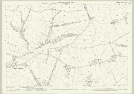 Somerset LIII.10 (includes: East Pennard; West Bradley; West Pennard) - 25 Inch Map