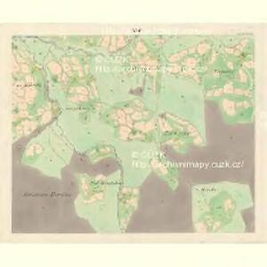 Ober Beczwa (Horny Bečwa) - m0763-1-015 - Kaiserpflichtexemplar der Landkarten des stabilen Katasters