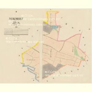 Nekmirz - c5019-1-001 - Kaiserpflichtexemplar der Landkarten des stabilen Katasters