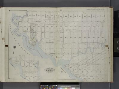 Queens, V. 1, Double Page Plate No. 16; Part of Jamaica, Ward 4; [Map bounded by Dunham Ave., Canal Ave., Morrell Ave., Jamaica Bay, Spring Creek] / by and under the supervision of Hugo Ullitz.