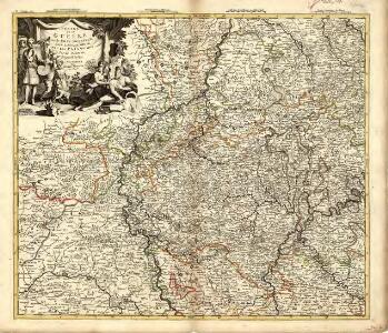 Teatre de la Guerre sur le Rhin, Moessele, Mayn, le Necker, Meuse, Avec les Pais voisins