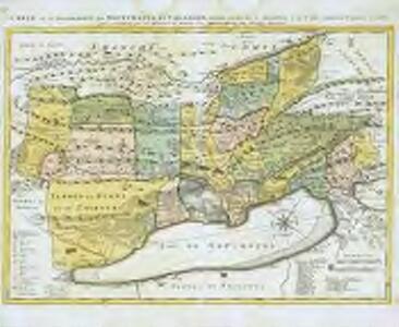Carte de la souveraineté de Neufchatel et Valangin