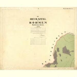 Heuraffel - c6182-1-001 - Kaiserpflichtexemplar der Landkarten des stabilen Katasters