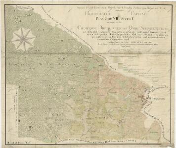 Mapa vrchnostenských lesů a pozemků při obcích Pavlův Studenec a Tachovská Huť