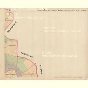 Donau - c1755-1-004 - Kaiserpflichtexemplar der Landkarten des stabilen Katasters