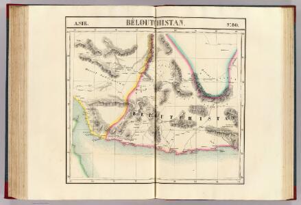 Beloutchistan. Asie 80.