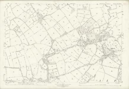 Somerset LXIV.7 (includes: Alford; Ditcheat; Lovington; Lydford; West Bradley) - 25 Inch Map