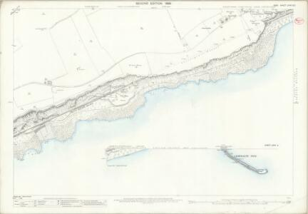 Kent LXXVI.1 & 2 (includes: Dover) - 25 Inch Map