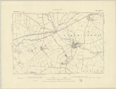 Northamptonshire LVII.NW - OS Six-Inch Map