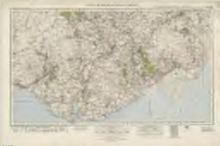Castle Douglas  & Kirkcudbright (92) - OS One-Inch map