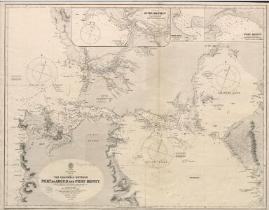 The channels between Port de Ancud and Port Montt by the Officers of H.M.S. Beagle, 1835