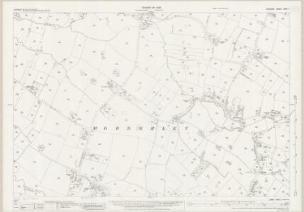 Cheshire XXVII.7 (includes: Mobberley) - 25 Inch Map
