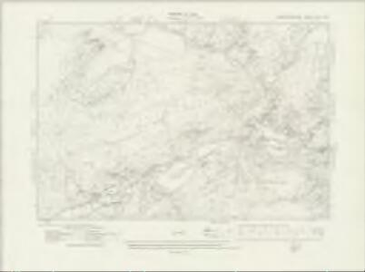 Caernarvonshire XVIII.SW - OS Six-Inch Map