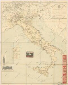 Carta generale delle Strade Ferrate Italiane