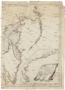 Karta predstavljajuščaja čast zapadnago berega Ameriki