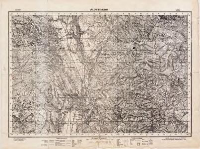 Lambert-Cholesky sheet 4252 (Vălenii de Munte)
