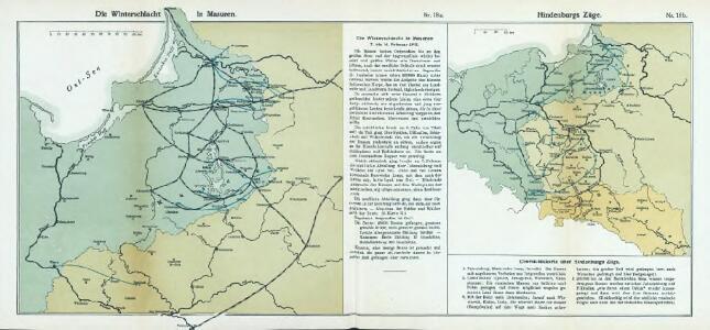Nr. 18a. Die Winterschlacht in Masuren