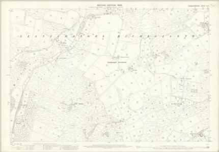Caernarvonshire XL.9 (includes: Buan; Llanbedrog) - 25 Inch Map