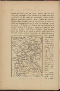 Mapka okolí Husince