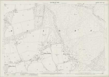 Hampshire and Isle of Wight LXXX.11 (includes: Boldre; East Boldre) - 25 Inch Map