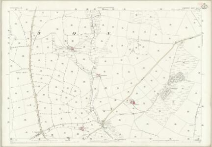Somerset LVII.4 (includes: Brompton Regis; Exton) - 25 Inch Map