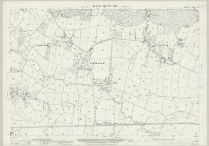 Somerset XI.9 (includes: Churchill; Congresbury; Wrington) - 25 Inch Map