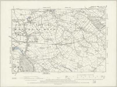 Lancashire LXV.SW - OS Six-Inch Map