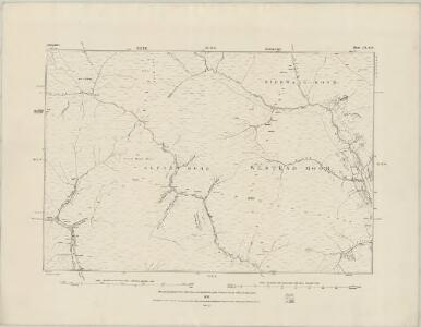 Derbyshire III.SW - OS Six-Inch Map