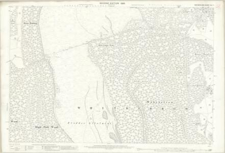 Westmorland XLII.1 (includes: Crosthwaite And Lyth; Witherslack) - 25 Inch Map