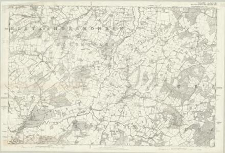 Sussex VIII - OS Six-Inch Map