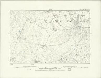 Cornwall LXXX.NE - OS Six-Inch Map