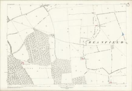 Northamptonshire XVII.5 (includes: Cottingham; East Carlton; Middleton; Wilbarston) - 25 Inch Map