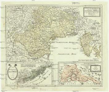 Karte von den Ländern welche durch den zwischen Oesterreich und Frankreich zu Campo Formido bey Udine den 17 October 1797 geschlossenen Frieden an das Erzhaus abgetreten wurden