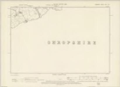 Cheshire LXVI.SE - OS Six-Inch Map